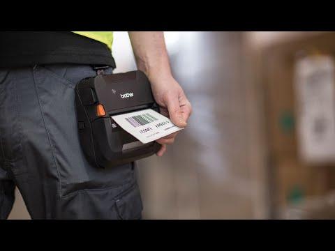 Soluciones  de impresión portátil para trabajadores en movilidad