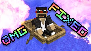 Minecraft: BOATS ARE FIXED