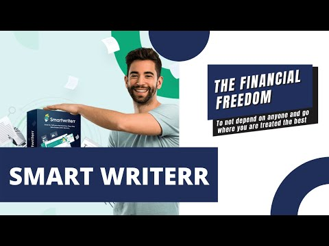 AN AI THAT WRITES CONTENT FOR YOU? 🤖 Discover how SMART WRITERR works inside this video!
