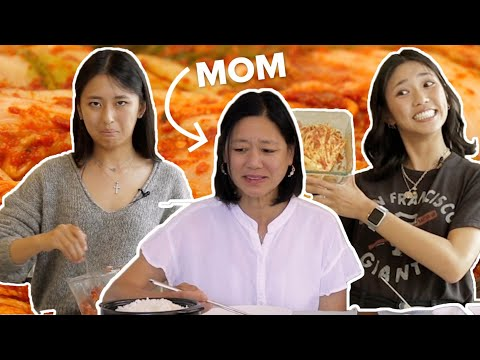 Parents Rate Their Children's Kimchi