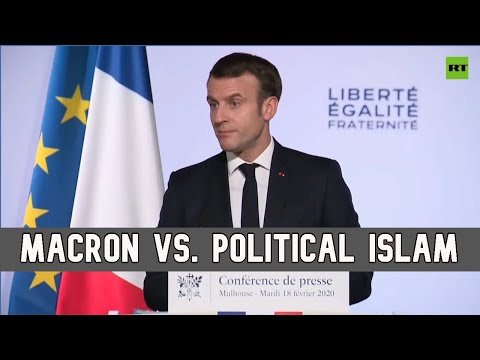 Macron bids for votes with pledge to fight French Islamic separatism