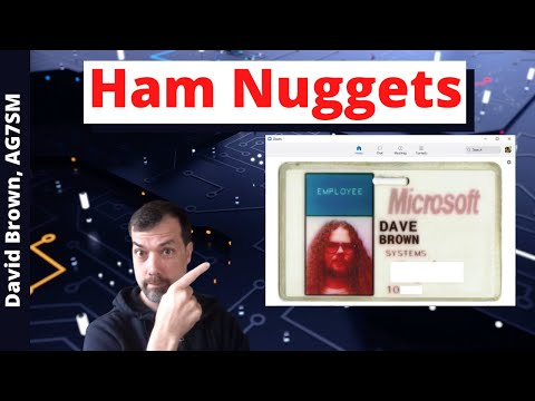 #88 Ham Nuggets Live! With David Brown, AG7SM