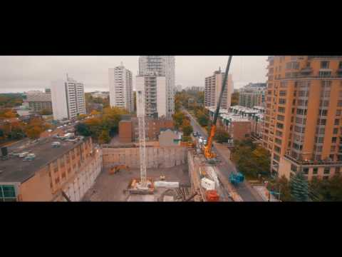 The Eglinton Crane Installation video September 2016