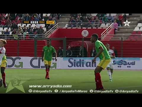 هدف المنتخب المغربي أمام المنتخب الموريتاني - اقصائيات امم إفريقيا للشبان -