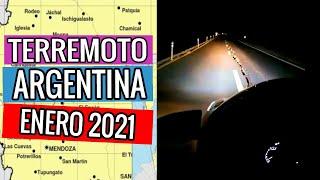 ACABA DE SUCEDER: TERREMOTO EN ARGENTINA - SAN JUAN (19 DE ENERO DE 2021)