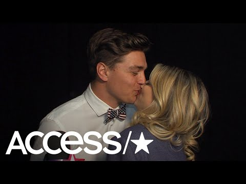 Dean Unglert Can't Stop Kissing Lesley Murphy Backstage At 'Bachelor Winter Games: World Tells All'