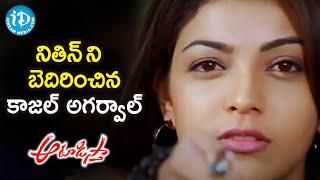 Kajal Aggarwal Threatens Nithiin | Aatadista Movie Scenes | Naga Babu | Venu Madhav | iDream Movies - IDREAMMOVIES