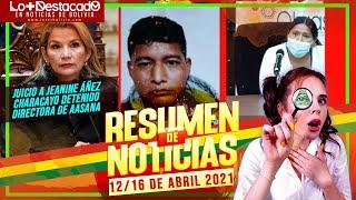 ???? RESUMEN DE NOTICIAS 12 AL 16 DE ABRIL 2021 [ NOTICIAS DE BOLIVIA ]