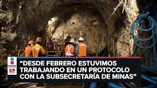 Reinicio de actividades en el sector minero