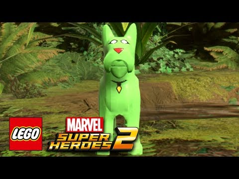 connectYoutube - LEGO Marvel Super Heroes 2 - Sparky Free Roam Gameplay Showcase