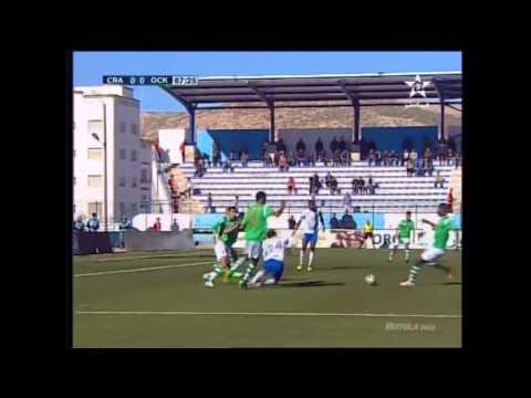 البطولة الوطنية: هدف مباراة شباب الحسيمة في مرمى أولمبيك خريبكة