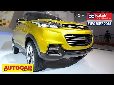 Chevrolet Adra Compact SUV Concept | First Look | Kotak Mahindra Prime Presents Expo Buzz 2014
