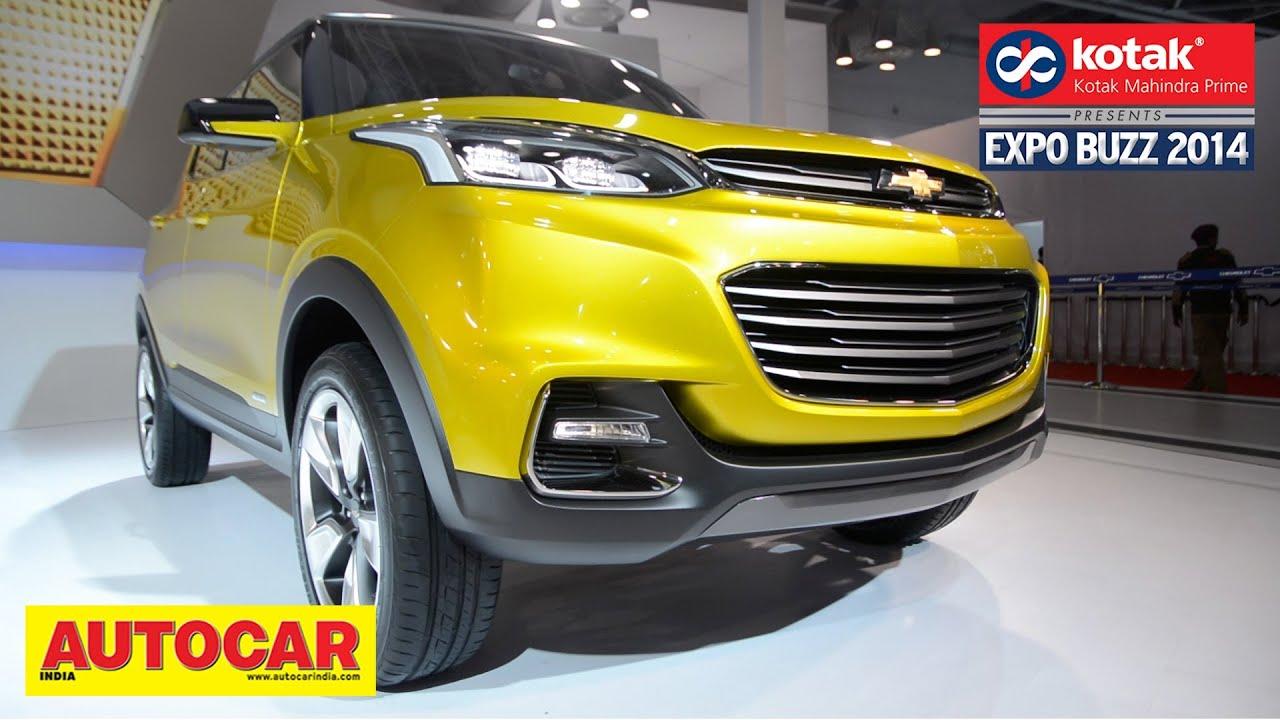 Chevrolet Adra Compact SUV Concept | First Look | Kotak Mahindra Prime Presents Expo Buzz 2014