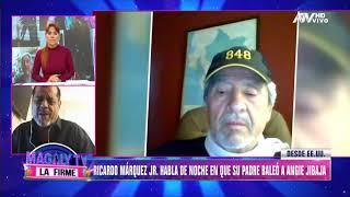 Hijo de Ricardo Márquez niega que su padre haya disparado a Angie Jibaja por celos