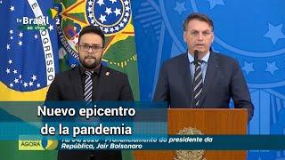 Sudamérica, epicentro de la pandemia: OMS