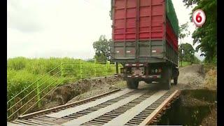 CONAVI incumple promesa de reparar puente en Siquirres