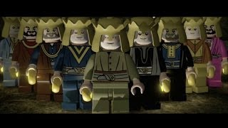 LEGO Lord of the Rings Walkthrough Part 1 - Prologue - The Battle of Dagorlad