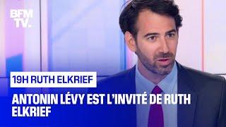 Antonin Lévy face à Ruth Elkrief