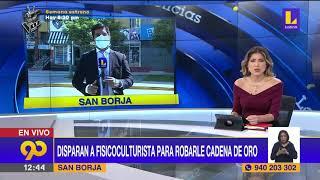 ???? Disparan a fisicoculturista para robarle cadena de oro | Latina noticias