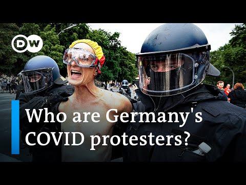 Berlin police take on anti-COVID-lockdown protesters | DW News