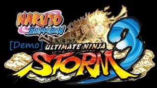 [Demo] Naruto Storm 3 Смотрим демку