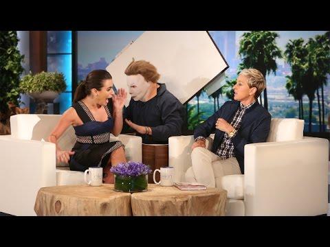 Lea Michele's Screaming Good Scare