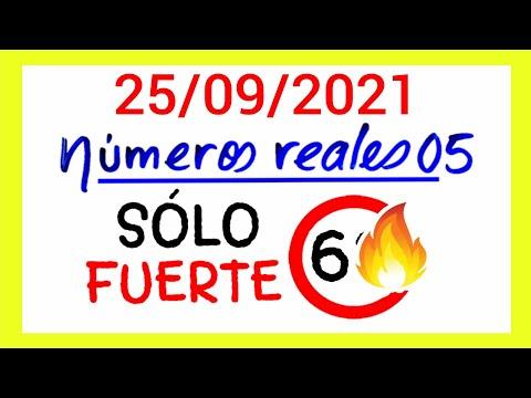 NÚMEROS PARA HOY 25/09/21 DE SEPTIEMBRE PARA TODAS LAS LOTERÍAS...!! Números reales 05 para hoy...!!