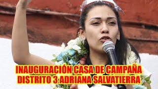 ADRIANA SALVATIERRA COMITÉ CÍVICO DE SANTA CRUZ NUNC4 RECL4MARON EN EL GOBIERNO DE AÑEZ..