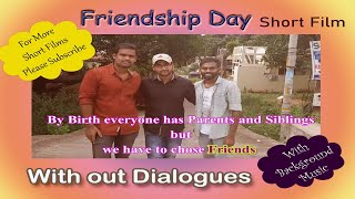 Friendship Day | Story and Direction by Alluri || Letest Telugu Short film 2020 ||Without dialogues - YOUTUBE