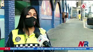 50 policias municipales de San José recibieron la primera dosis de vacuna contra Covid 19