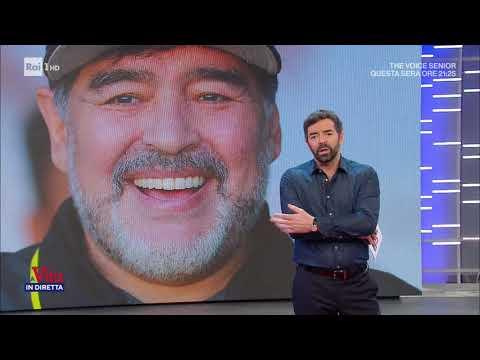 Eterno Diego - La Vita in Diretta 27/11/2020