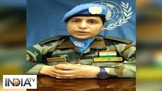 Working towards peace has been a life changing experience: Major Suman Gawani - INDIATV