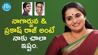 I like Nagarjuna & Prakash Raj very much - Actress Pavitra Lokesh | Koffee With Yamuna Kishore - IDREAMMOVIES