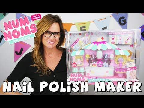 connectYoutube - Num Noms Nail Polish | DIY Toy | Scented Nail Polish Craft by DCTC Amy Jo