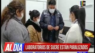 Coronavirus: Laboratorios de Sucre están paralizados