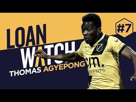 LOAN WATCH: THOMAS AGYEPONG   NAC Breda 2017-18