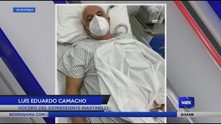 Entrevista a Luis Eduardo Camacho, sobre la condición de salud del Expresidente Martinelli