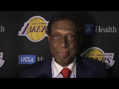connectYoutube - Lakers Legend Elgin Baylor talks about being honored with a statue outside of Staples Center