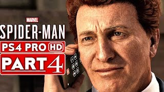 SPIDER MAN PS4 Gameplay Walkthrough Part 4 [1080p HD PS4 PRO] - No Commentary (SPIDERMAN PS4)