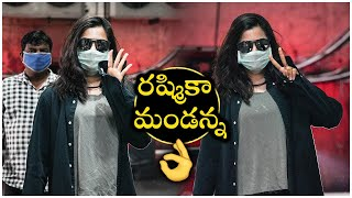 Rashmika Mandanna Spotted At Gym Today | Celebrities At GYM | TFPC - TFPC