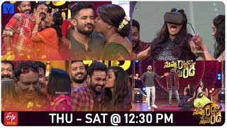 Nuvu Ready Nenu Ready Latest Promo - 15th October 2020 - Ravi,Vindhya  - Husband's Vs Wife's - MALLEMALATV