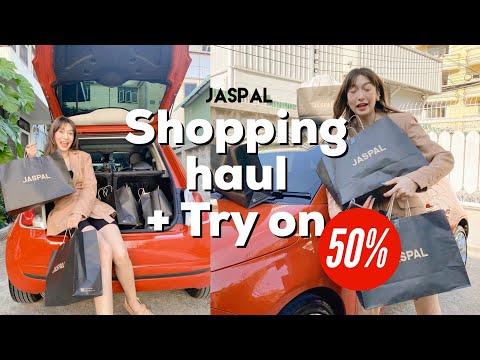 Vlog-Shopping-haul-+-Try-on-พา