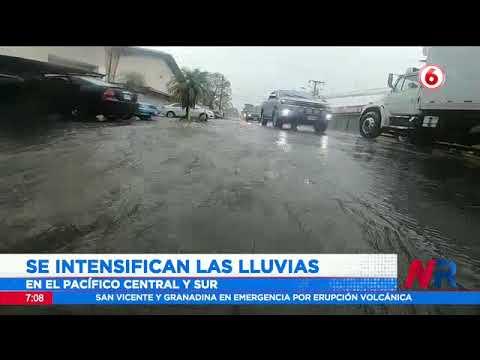 Durante las próximas horas se intensificarán las lluvias