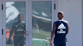 Vinicius, ausente del entrenamiento del Real Madrid por un fallo en la prueba del Covid-19