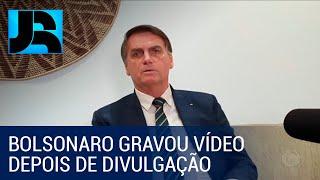 Presidente Bolsonaro usa rede social para falar sobre conteúdo de vídeo de reunião ministerial
