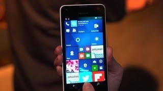 Microsoft Lumia 550, the first cheap Windows 10 phone
