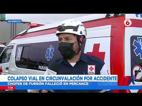 Colapso total de Circunvalación tras accidente