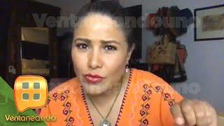 ¡Vanessa Bauche condena la violencia de género a través de contenidos abiertos!   Ventaneando