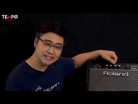 รีวิวตู้แอมป์กลองไฟฟ้า-Roland-