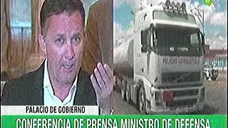Ministro Luis Fernando López Julio brinda conferencia de prensa